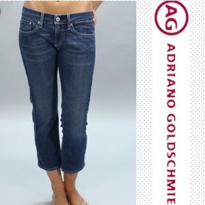 Ag Adriano Goldschmied Jeans - AG The Maiden Cigarette Crop Capri